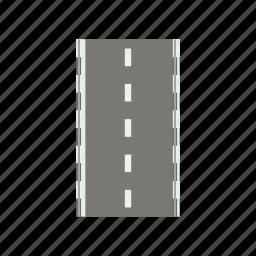asphalt, cartoon, drive, highway, road, transportation, way icon