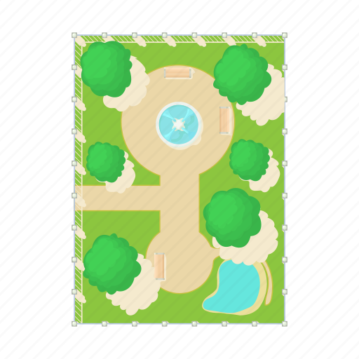 Above Aerial Cartoon Fountain Green Park View Icon Download On Iconfinder Model is fully textured with all materials applied. above aerial cartoon fountain green park view icon download on iconfinder