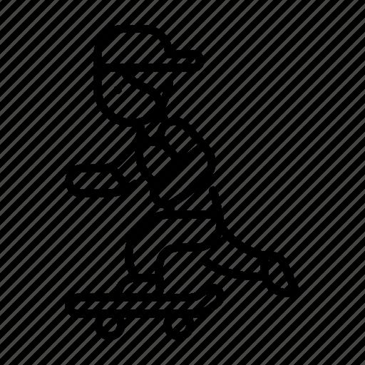boy, man, people, person, play, skateboard, urban icon