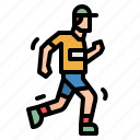runner, running, sport, trainer, trainers icon