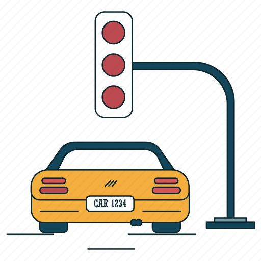 city, cr, signboard, signs, traffic light icon