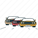 automobile, car, cars, race, road, traffic, transportation icon