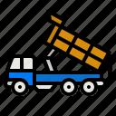 hydraulic, crane, lifter, heavy, vehicle