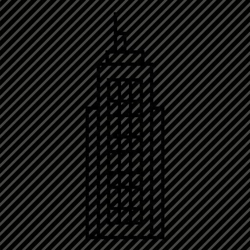 building, city, cityscape, estate, office, skyscraper, tower icon