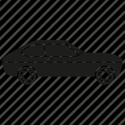 automobile, car, classic car, retro, transport, vehicle, vintage icon