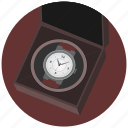 box, clocks, luxury, present, watches icon