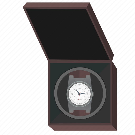 Box, clocks, man, open, present, watches icon - Download on Iconfinder