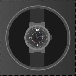 box, clocks, man, present, watches icon