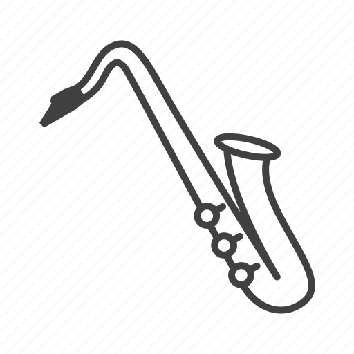 Brass, saxophone, tenor icon - Download on Iconfinder