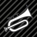 brass, flugelhorn
