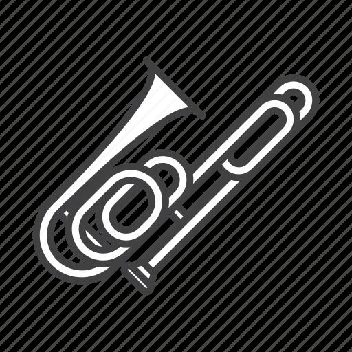 Brass, contrabass, trombone icon - Download on Iconfinder