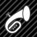baritone, brass, euphonium icon