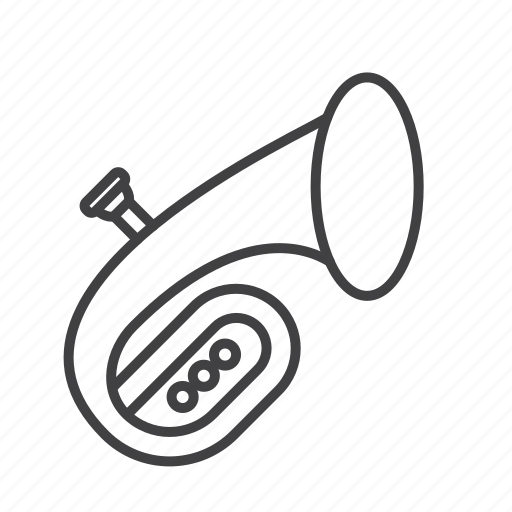 Baritone, brass, euphonium icon - Download on Iconfinder