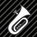 brass, tuba