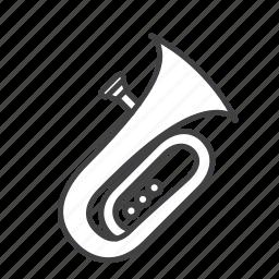 brass, tuba icon
