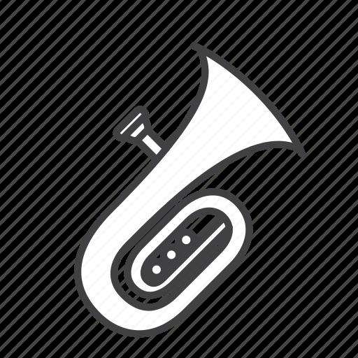 brass, contrabass, tuba icon