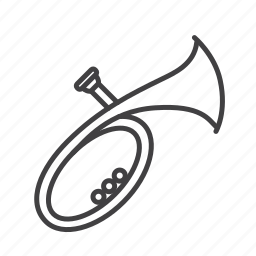 brass, tuba, wagner icon