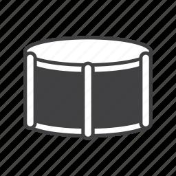 drum, percussion, snare icon