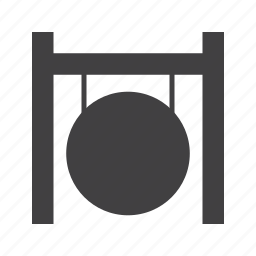 gongs, percussion, suspended icon