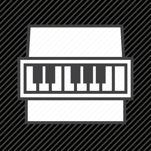 calesta, keys, piano icon