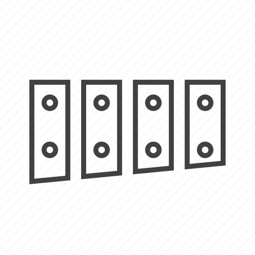 Glockenspeil, idiophone, percussion icon - Download on Iconfinder
