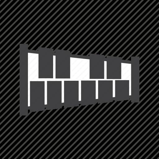 idiophone, marimba, percussion icon