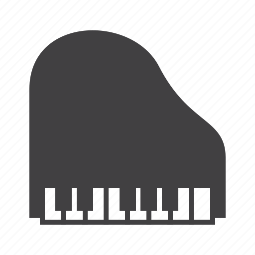 Grand, keys, piano icon - Download on Iconfinder