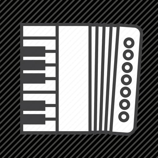 accordion, bandoneon, concertina, harmonica icon