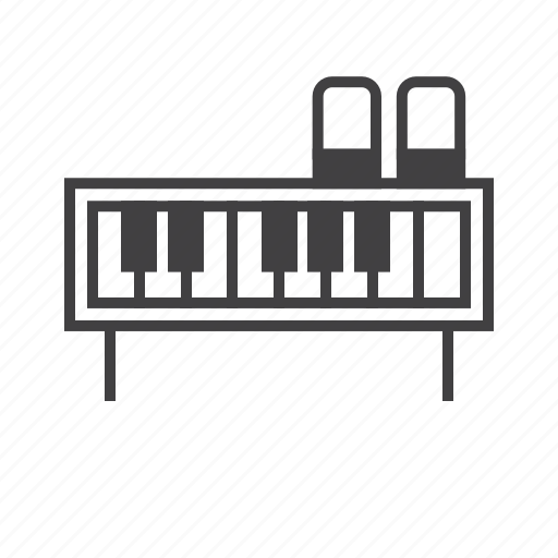 Electric, fender, piano, rhodes icon - Download on Iconfinder