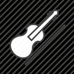 bow, string, viol, violin icon