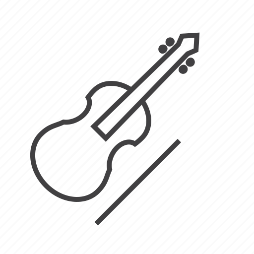 bow, cello, string, viol icon