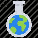 chemistry, green icon