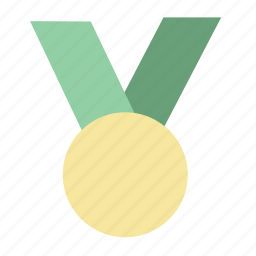 achievement, awards, badge, first place, gold, win, winner icon