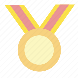 awards, badge, first place, gold, medal, win, winner icon