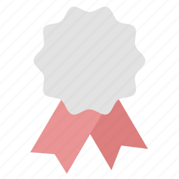 award, badge, medal, run, second place, winner icon