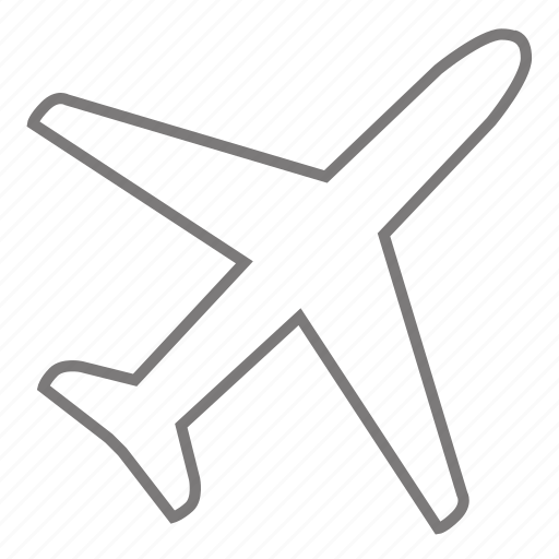 airplane, distance, flight, fly, flying, location, travel icon