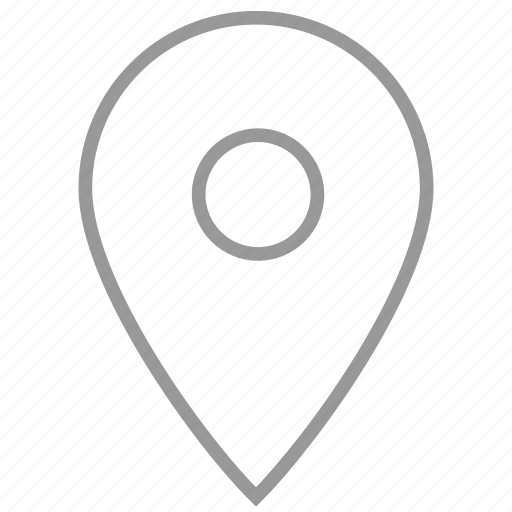 location, map, pin, point, route, spot, waypoint icon