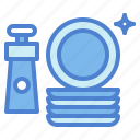 clean, cleaning, dishes, liquid, plate, soap, washing icon