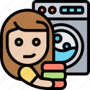 laundry, clothes, chores, washing, appliance