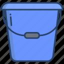 washing, bucket