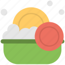 dishwasher, dishwashing, plates, washing, washing dishes icon