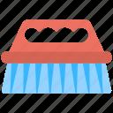 blue bristles, rubbing floor, scrubbing, scrubbing brush, washing