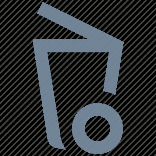 clean, cleaning, dust bin, garbage, housekeeping, recycle, trash icon