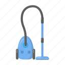 cleaning, cleanup, equipment, tool, vacuum cleaner icon