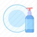 cleaning, cleanser, cleanup, detergent, equipment, spray bottle, tool icon