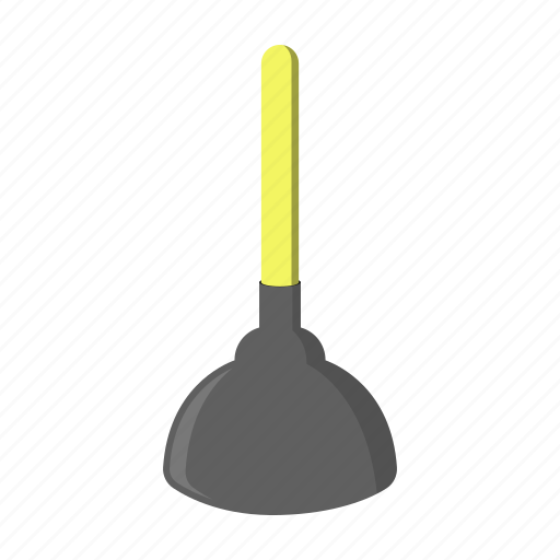 cleaning, cleanup, equipment, plunger, tool icon