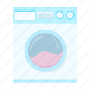 cleaning, cleanup, equipment, tool, washing machine icon