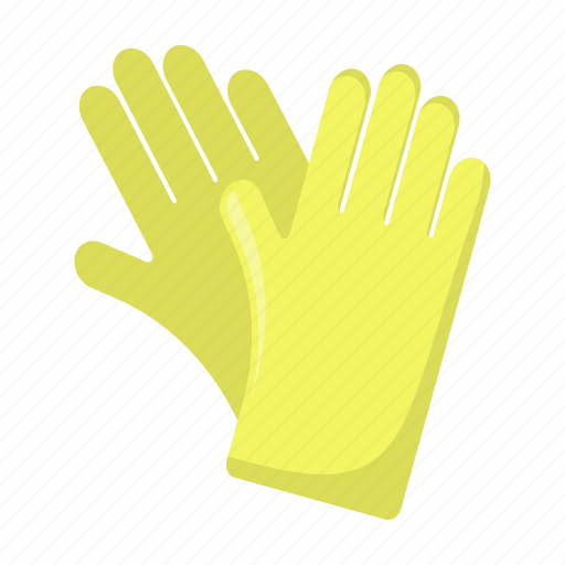 cleaning, cleanup, equipment, glove, protective, tool icon