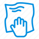 cleaning, hand, housework, rub, scrub icon