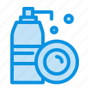 aerosol, bottle, cleaning, spray icon